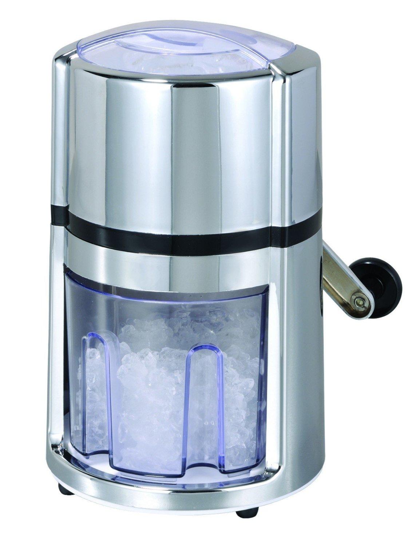Ice Crusher Eiscrusher manuell Eiszerkleinerer Crushed Ice Maker mit Kurbel